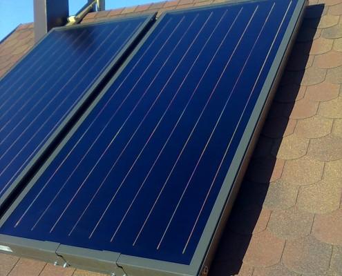 Солнечная система для нагрева воды Симферополь