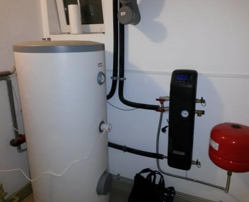 Нагрев воды в бойлере от солнечных панелей в Симферополе