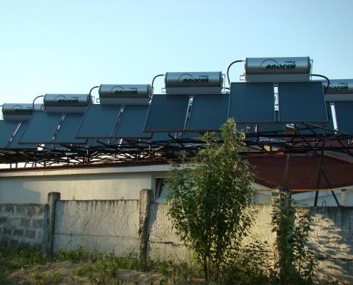 Солнечная система для нагрева воды в Херсоне