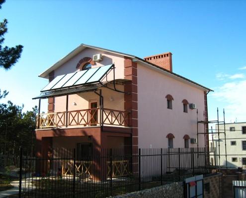 Солнечная система для нагрева воды Севастополь