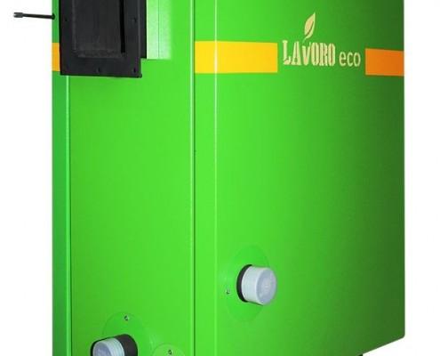Пиролизный котел Lavoro Eco C вид сзади