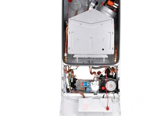 Котел газовый Bosch Gaz 6000 внутренности