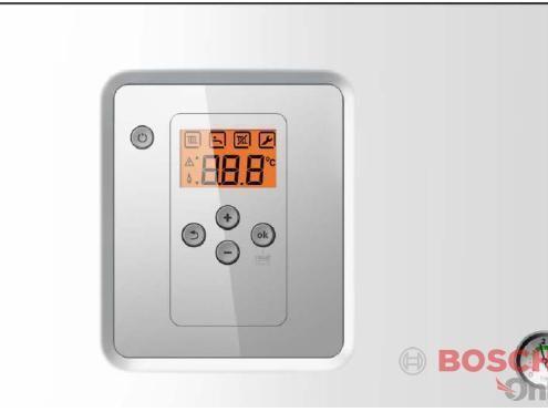 Панель управления котлом Котел газовый Bosch Gaz 6000