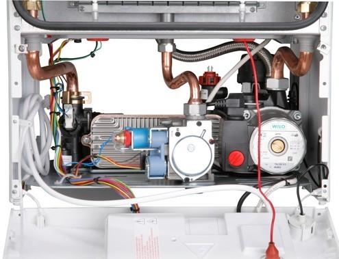 Котел газовый Bosch Gaz 6000 изнутри