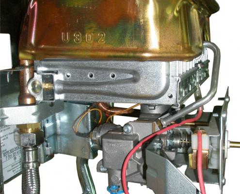 Газовая колонка Бош - устройство внутри