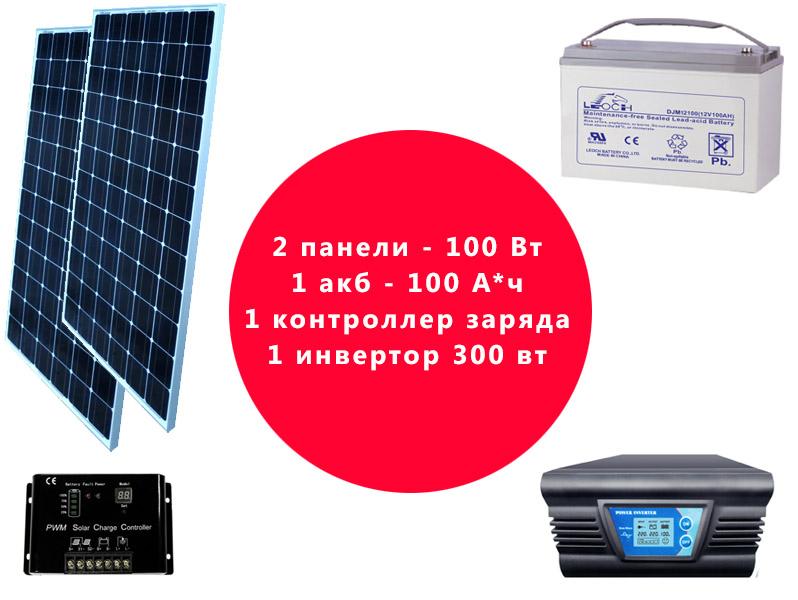 Комплект приборов для солнечной системы