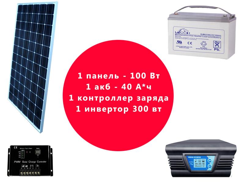 Комплект оборудования для солнечной системы