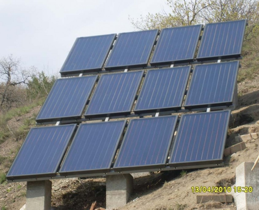 Hewalex panel solar collectors