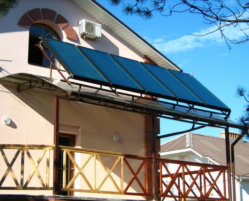 Солнечная система в коттедже